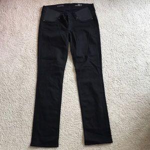 J.Crew Black Maternity Jeans
